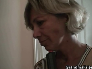 older lady is slammed by robbers
