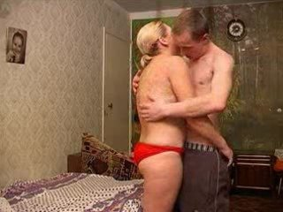 russian mom with guy