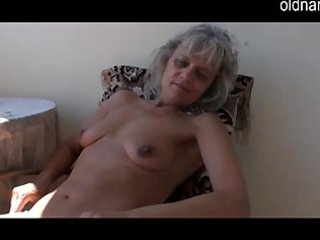 wicked mature aged masturbating with toy