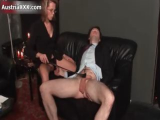 messy aged whore goes mad flogging part2