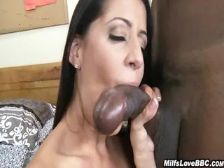 white mother i rides his large darksome pole