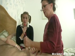 mommy tugjob