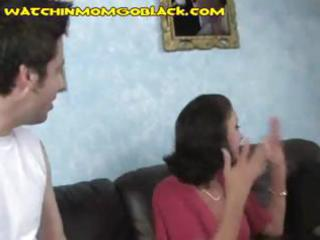 busty brunette mother i pays her sons debt by