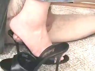 shoe fetish homemade footjob