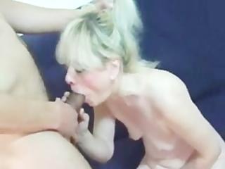 granny has fun with juvenile man