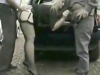 dogging for her hubby