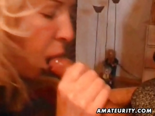 older non-professional wife home full blowjob
