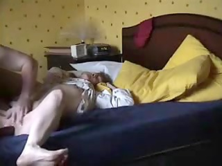 non-professional wife driven to orgasm