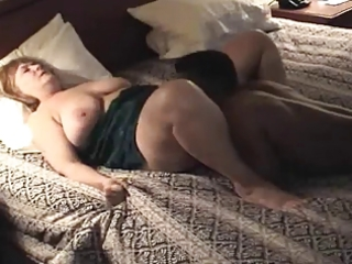 plumper mature housewife receives screwed &;