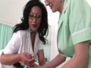 older lewd nurses receive to work on some