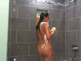 gorgeous mother i showering