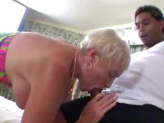 granny loves younger black jock