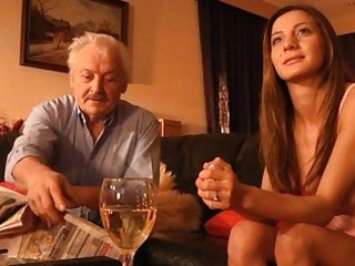 grandpa drilled by youthful alice