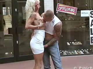 public sex mother i drilled at a shoe store