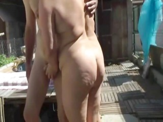 french bbw screwed in a trio