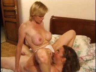 older blond is experienced in the art of coarse