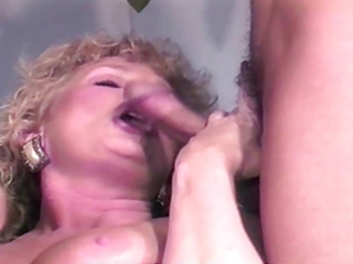 older golden-haired shablee three-some