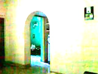 hidden livecam of my mom walking after bath from
