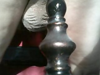 aged anal insertion home alone