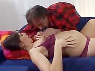 prego wife fucks ally of her husband preggo preg