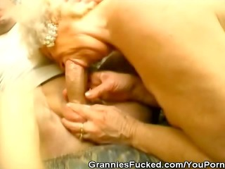 grannies in a threesome