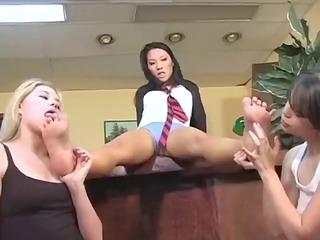 sexy foot fetish girls