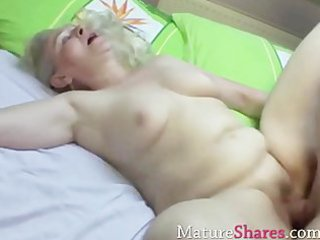 granny team-fucked and cumhozed