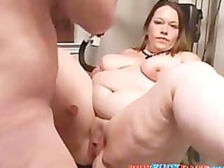 home filming very anal obese wife