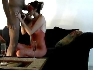 wife gets trio bbc blindfolded