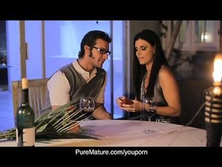 puremature candlelight anal with hot mama india
