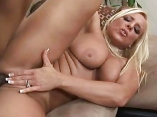 older blonde having interracial sex