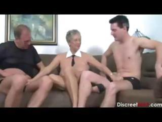 slutty dilettante mature german bitch engulfing