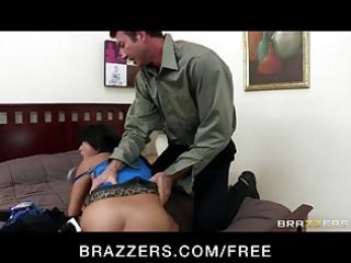 big-boob dark brown oriental wife gaia punished