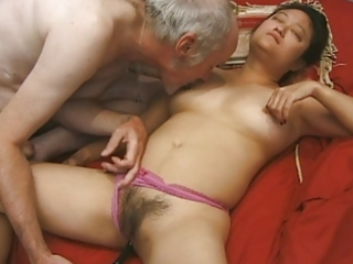 older asian playgirl group-fucked hard