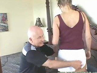 hubby watched his wife got mouth and anal fucked