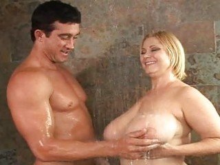 older fucking breasty doxies in the shower