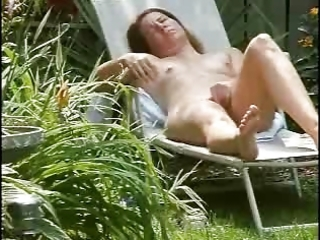 spying my cute mamma masturbating in court yard