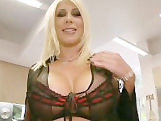 ideal milf pornstar in three-some