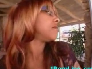 black mother and daughter doubleteam a large rod