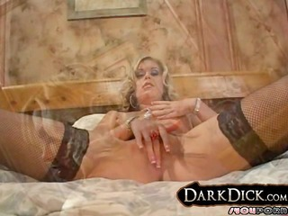 smokin white wife doggy drilled by dark dude