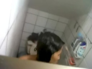 video - wife sister bath hidden web camera spy