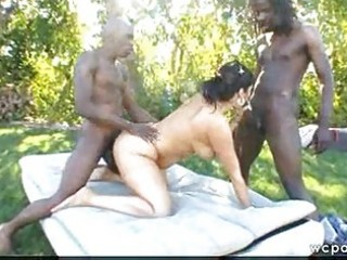 public d like to fuck interracial double