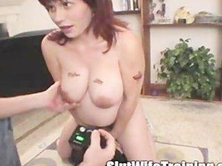 training a preggo wife to be a slut mom