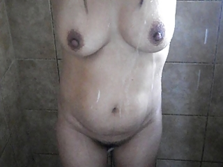 filipina milf shower