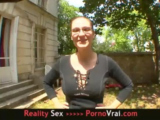 french non-professional my wife drilled by a