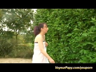 groupsex joy with voyeur papy