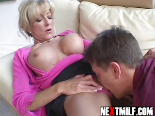 bored housewife needs three-some dick