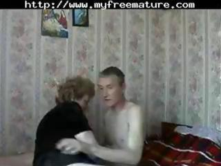 aged russian mom acquires a youthful fellow to