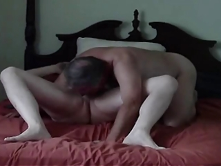 older man loves to engulf cock of younger