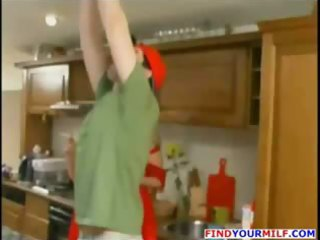mature russian abode wife get horny